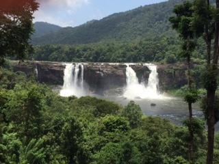 arithripally-water-falls-kerala