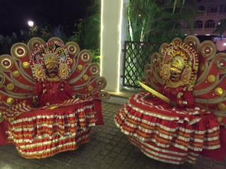 Kathekali dancers